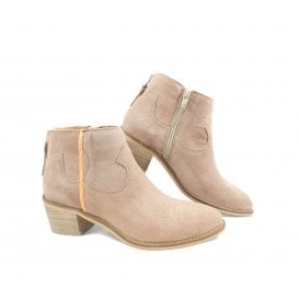 1bc9397db78 Alpe 4011 Western Style Ankle Boot