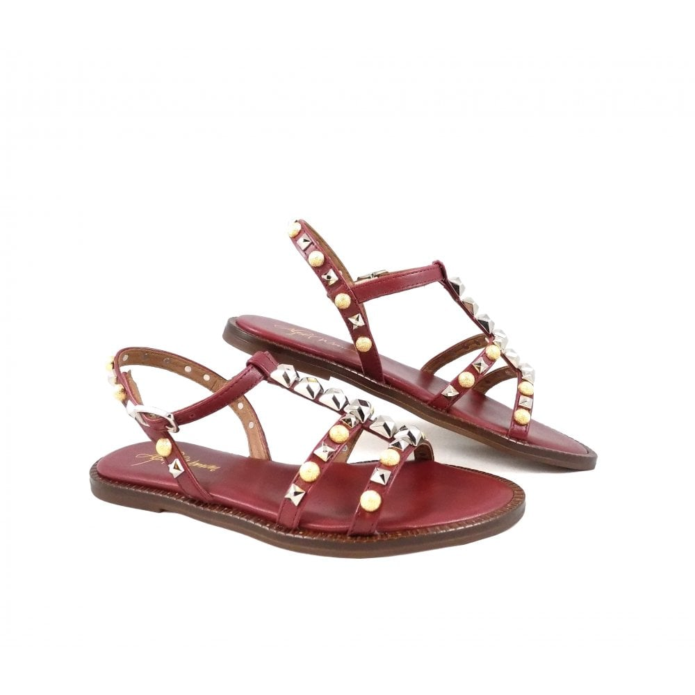 4d0cca5ff68c Alpe 4197 Gladiator Sandals with Embellishments