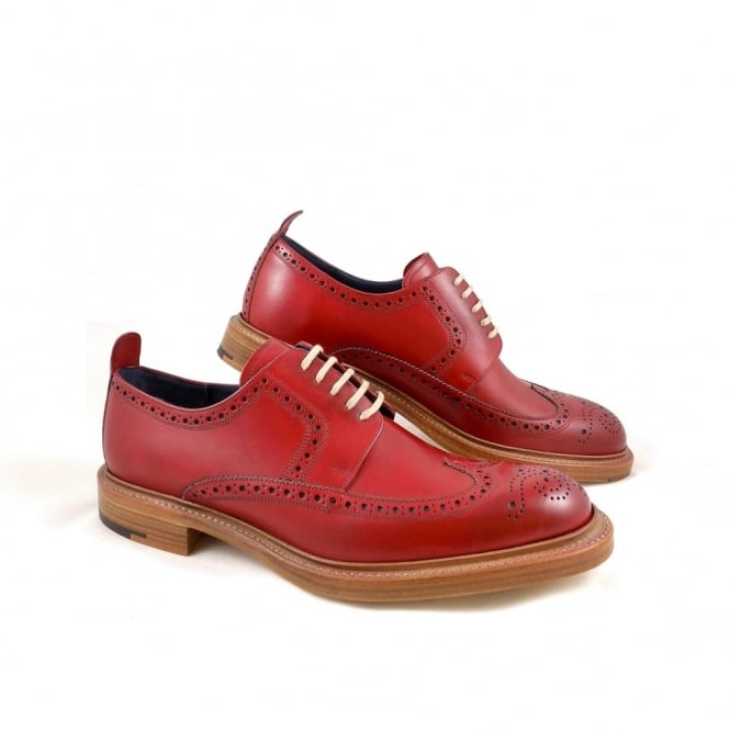 Barker Bailey Wingtip Derby Brogue
