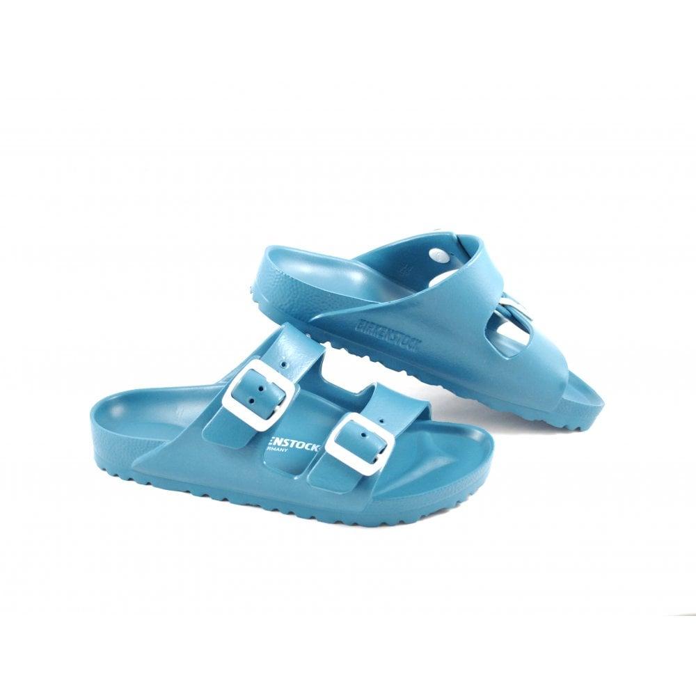 8c44b013722 Birkenstock Arizona EVA Two Strap Sandals in Turquoise   rubyshoesday