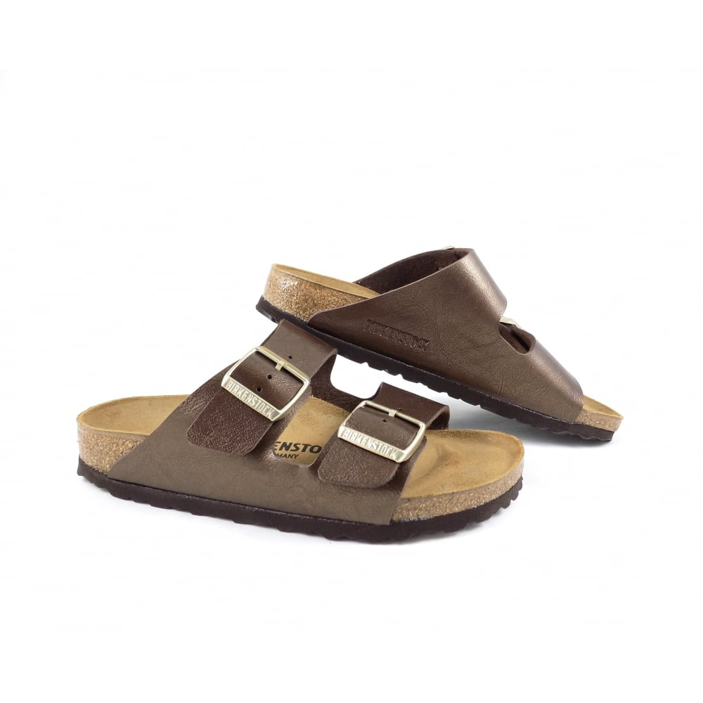 2257ccf46 Birkenstock Arizona Two Strap Sandals in Toffee | rubyshoesday