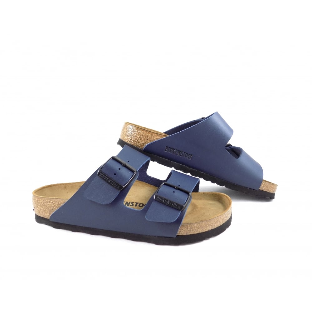Birkenstock Arizona Classic Two Strap Sandals in Blue  2ae49748814