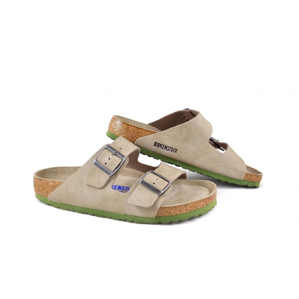 b56421ce1 Birkenstock Arizona Soft Footbed in Desert Soil Taupe