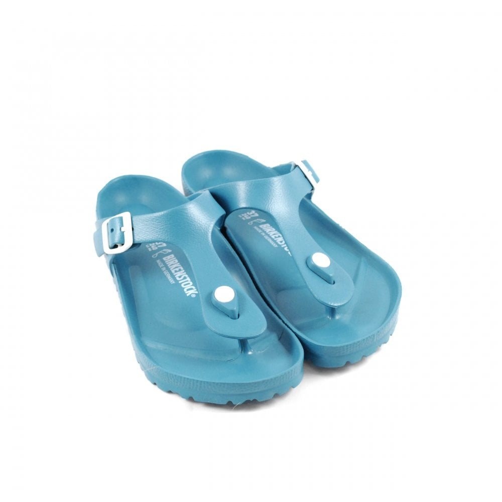 46ec333c657 Birkenstock Gizeh EVA Toe Post Sandals in Turquoise   rubyshoesday