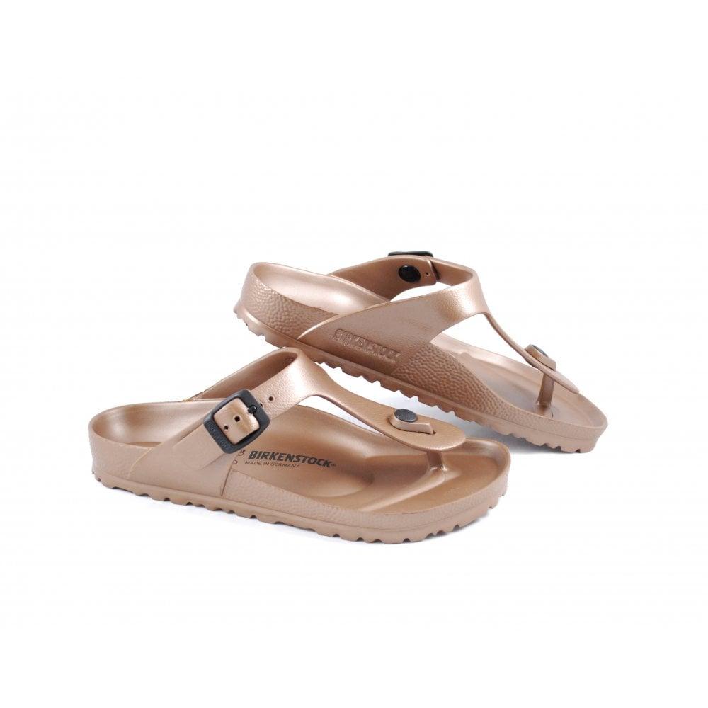 e70bf93c53e Birkenstock Gizeh EVA Toe Post Sandals in Copper   rubyshoesday