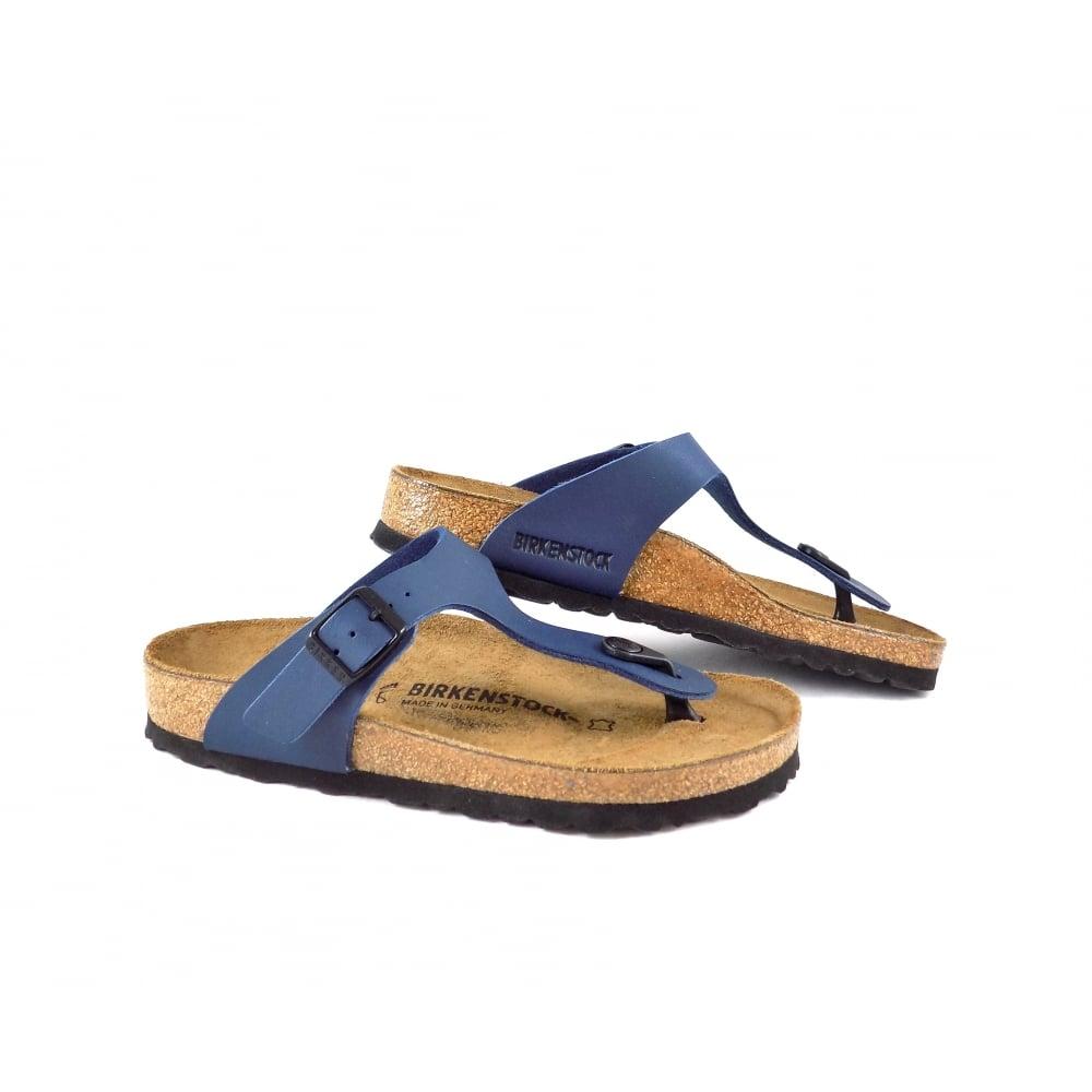 ea8ed8f6a7c9 Birkenstock Gizeh Toe Post Sandals in Blue