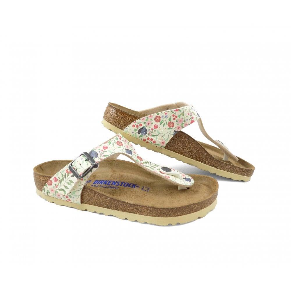 5fd3008f5 Birkenstock Gizeh Toe Post Sandals in Meadow Flowers