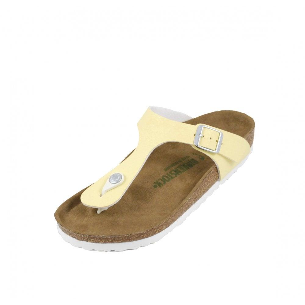 aea91eb14 Birkenstock Gizeh Toe Post Sandals in VEGAN Vanilla | rubyshoesday