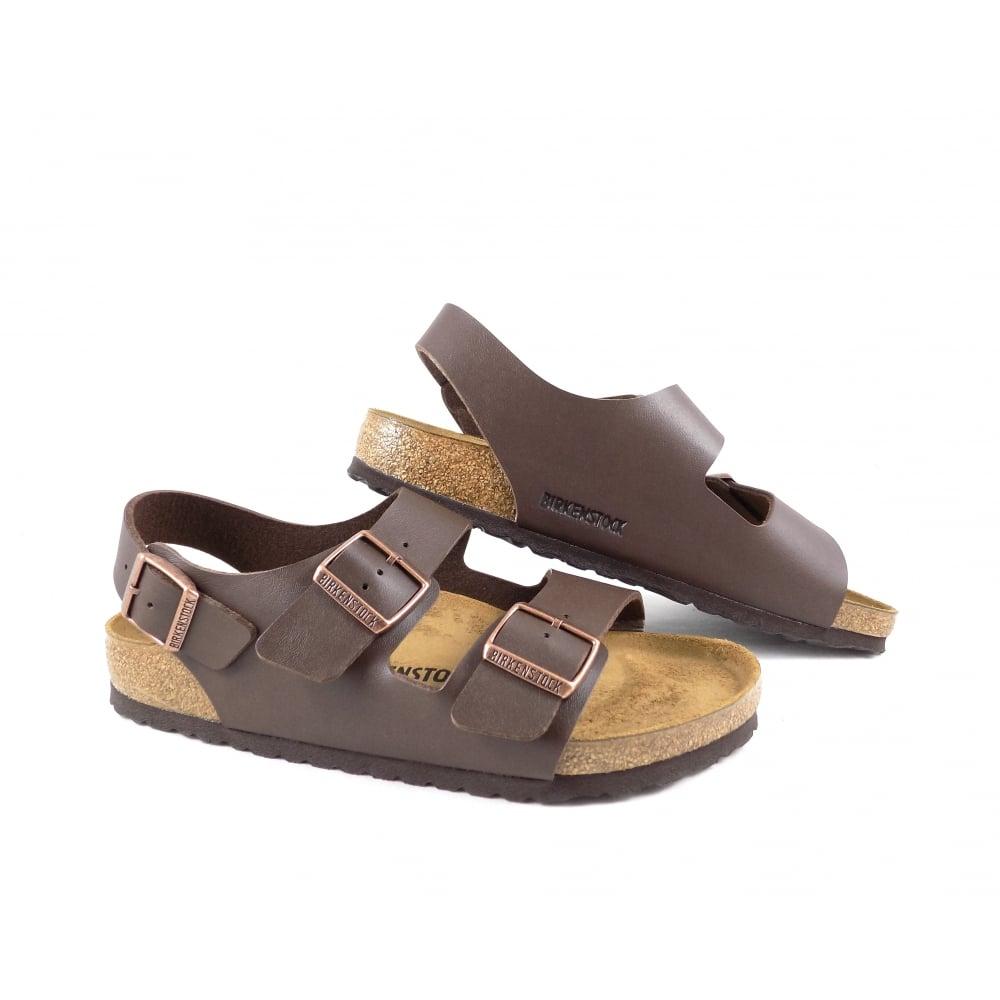 4c92aaeb548 Birkenstock Milano Classic Sandals with Heel Strap