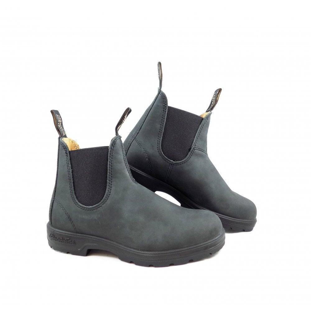 44655fbf9885 Blundstone 587 Elastic Side Ankle Boots in Black
