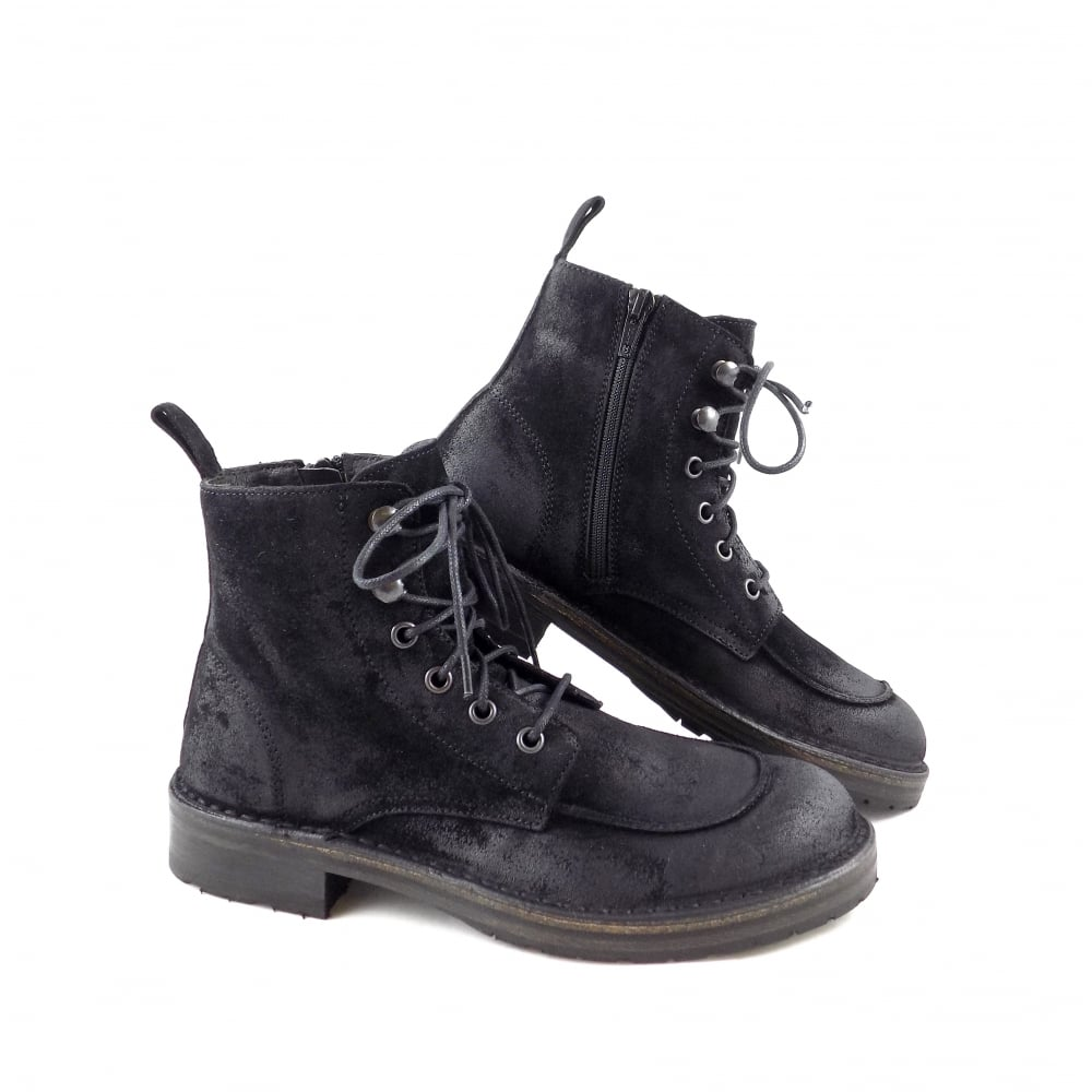 Up Lace Rubyshoesday In Boemos Boots Ankle 2072 Black EFnqx5zw7