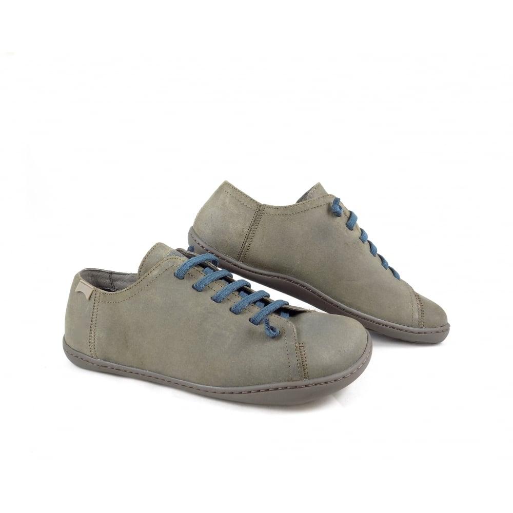 876eccc609eccb Camper 17665-144 Peu Cami Elastic Lace Shoes in Brown