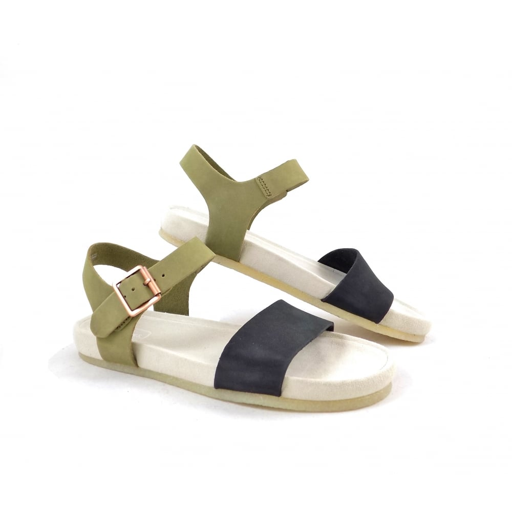 07f098f3cee8 Clarks Originals Dusty Soul Ankle Strap Flat Sandals