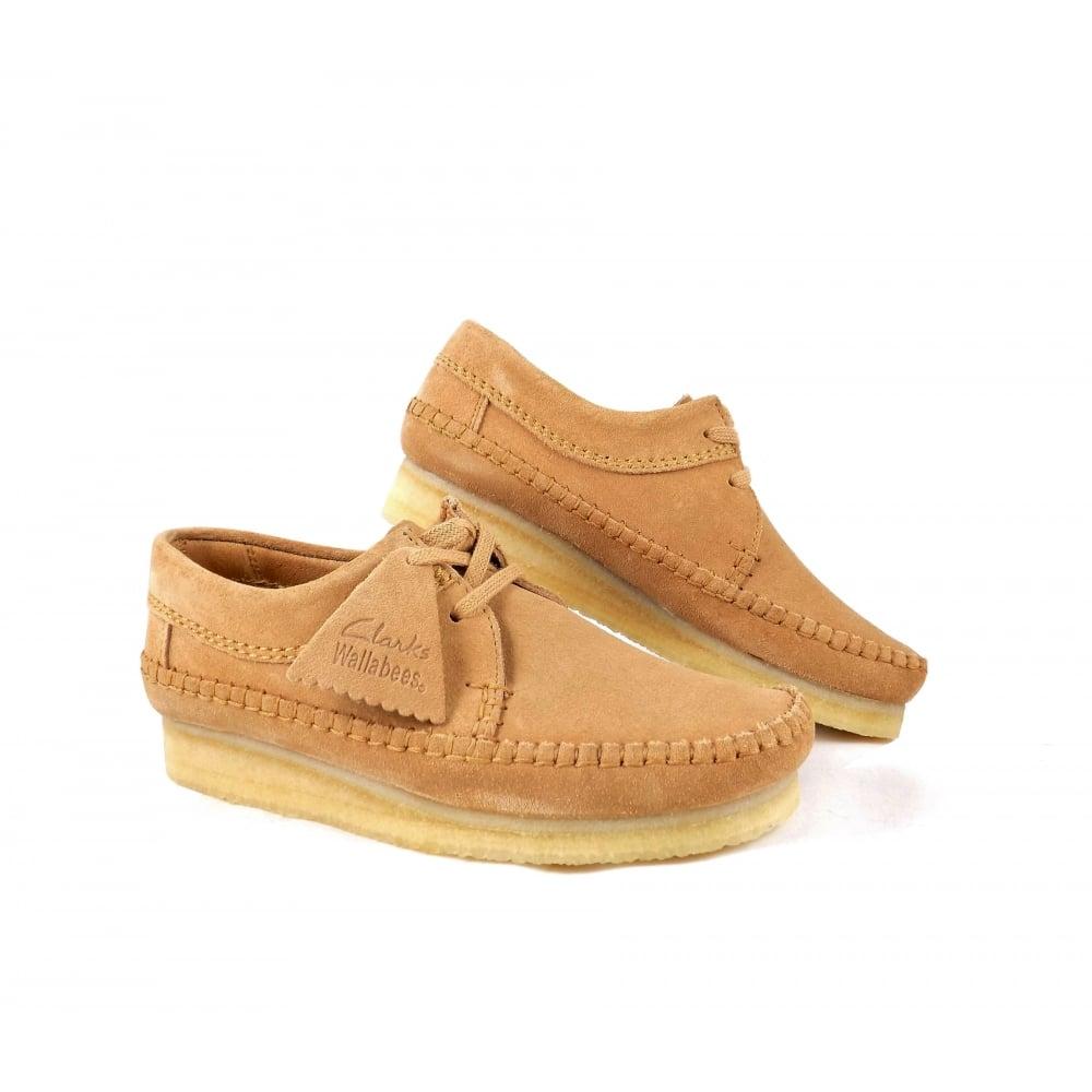 Clarks Originals Weaver Lace Up Shoes