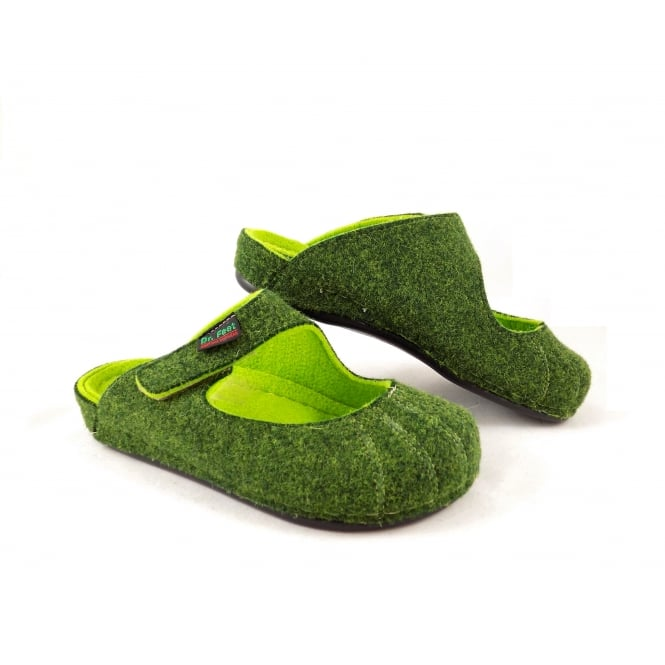 Dr Feet 2240 D Mary Jane Style Felt Slipper