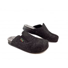 Dr Feet 2253 T Felt Slippers with Elastic