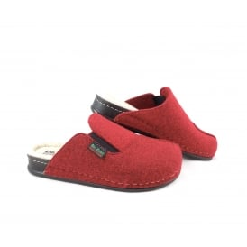 Dr Feet 2329 Slip On Felt Slipper