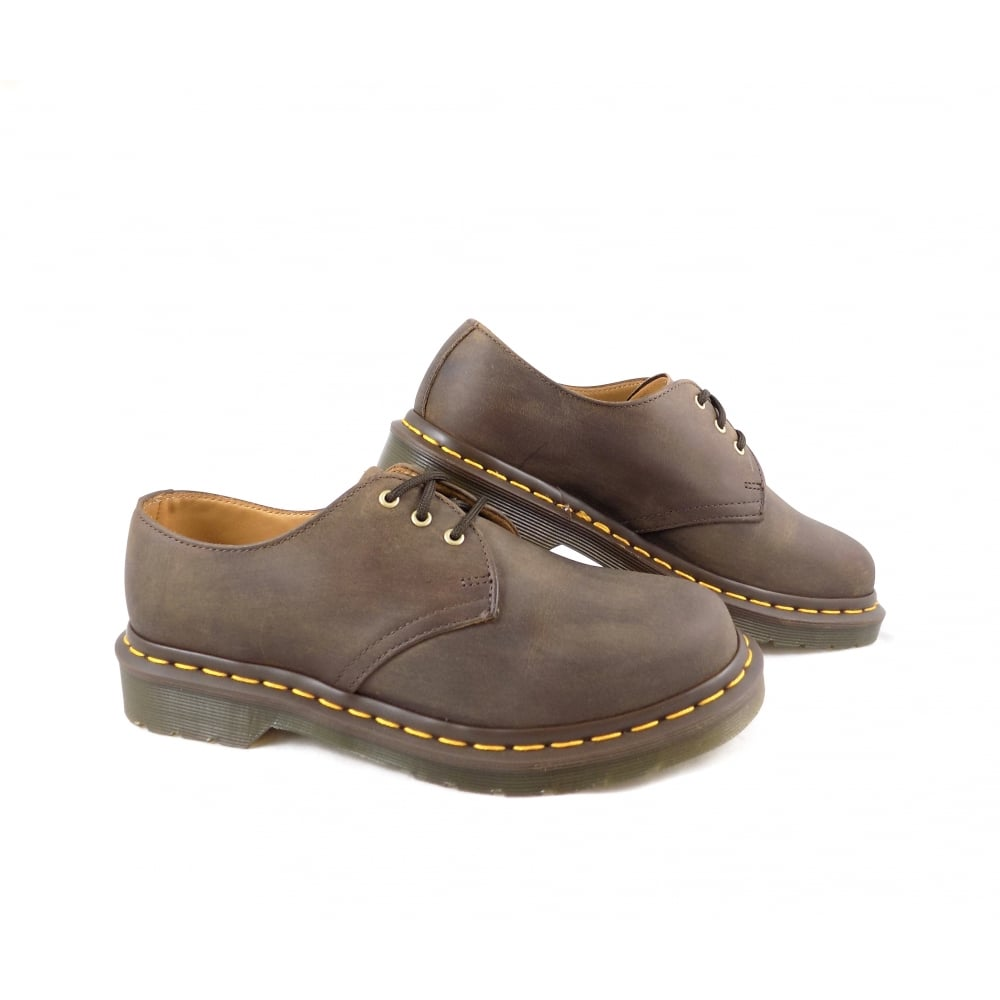 87354ed3cdfd Dr Martens 1461 Classic Lace Up Shoes in Gaucho Brown