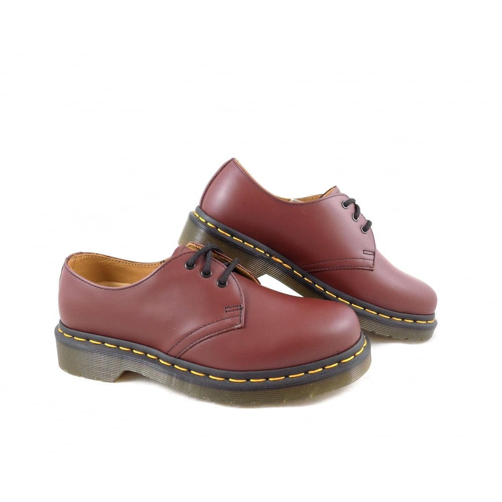 Dr Martens 1461 Classic Lace Up Shoes in Cherry Red ...