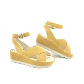Fly London Bite Flatform Ankle Strap Sandal