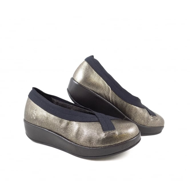 Fly London Bobi Flatform Slip On Shoe