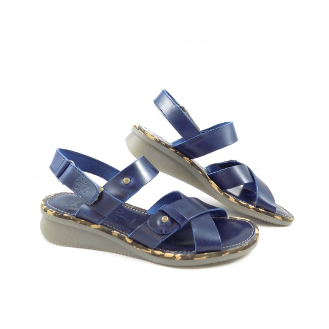 Fly London Crib Low Wedge Sandal