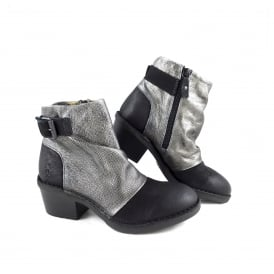 Fly London Dape Ankle Boot with Strap Detail