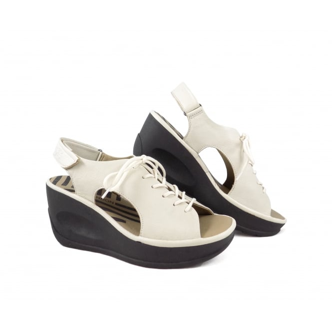 Fly London Jart Sporty High Wedge Sandal
