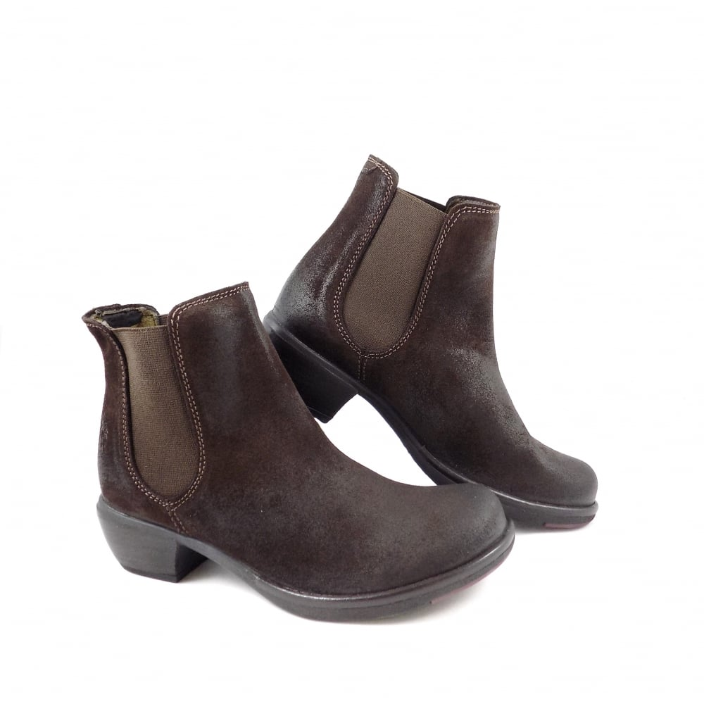 b3a5f773b5dd Fly London Make Chelsea Boots in Espresso Oiled Suede   rubyshoesday