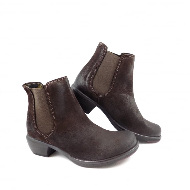 Fly London Make Chelsea Boot with Low Heel