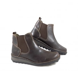 Fly London Map Chelsea Boot with Seam Detail