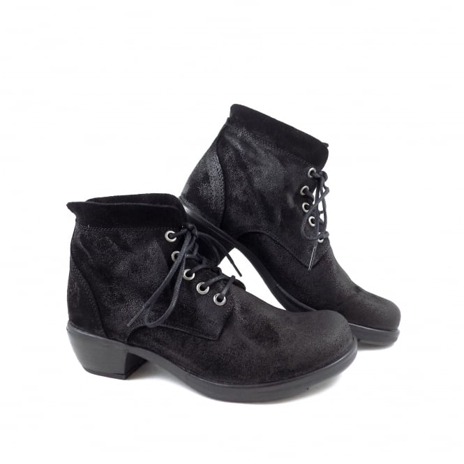 Fly London Mesu Lace Up Ankle Boot