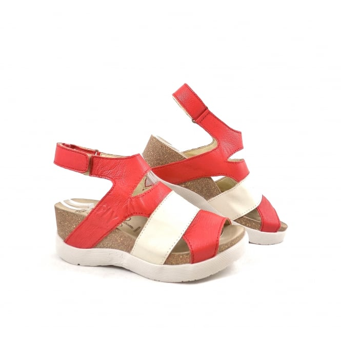 Fly London Wimi Sporty Wedge Sandal