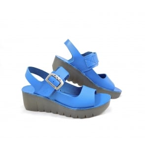 Fly London Yail Chunky Low Wedge Sandal