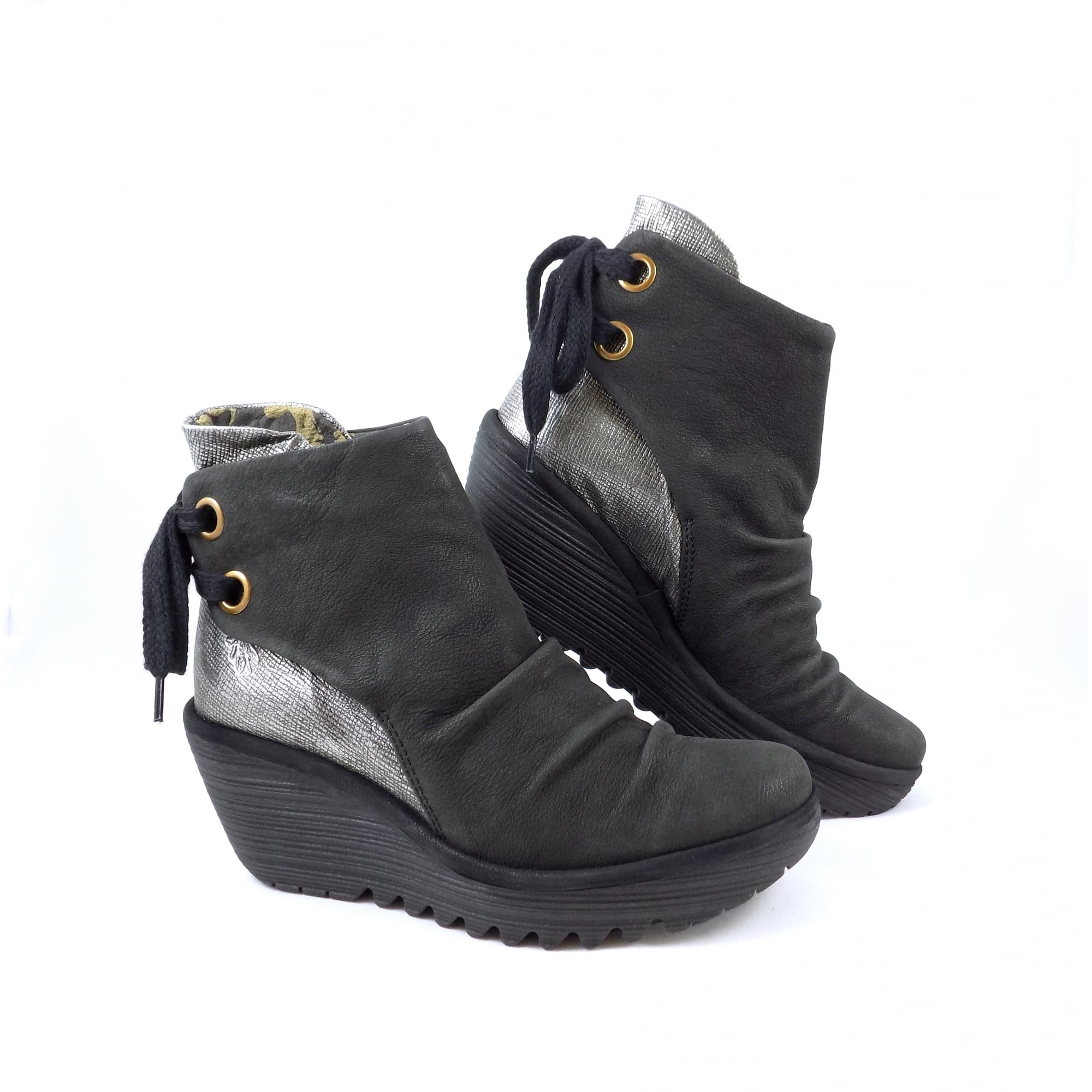 Fly London Yama Ankle Boots with Lace