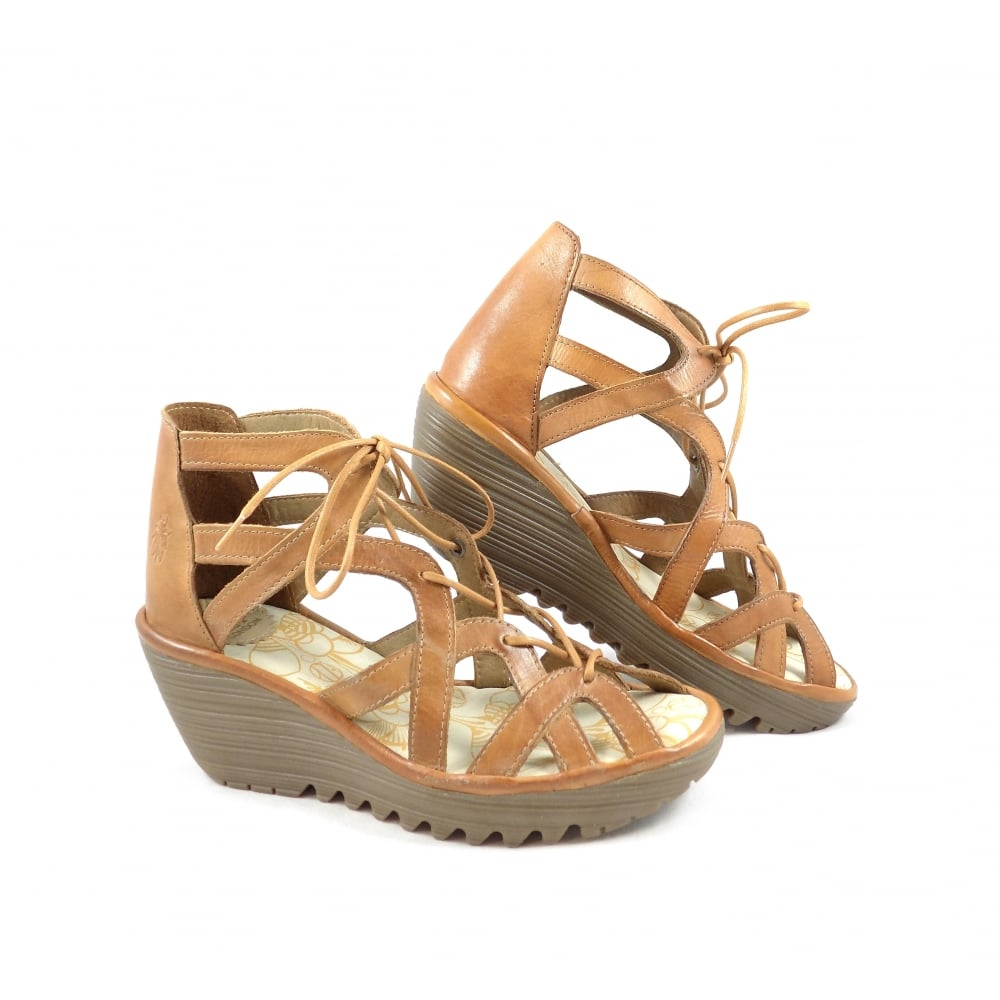 Fly London Yeli Strappy Wedge Sandal