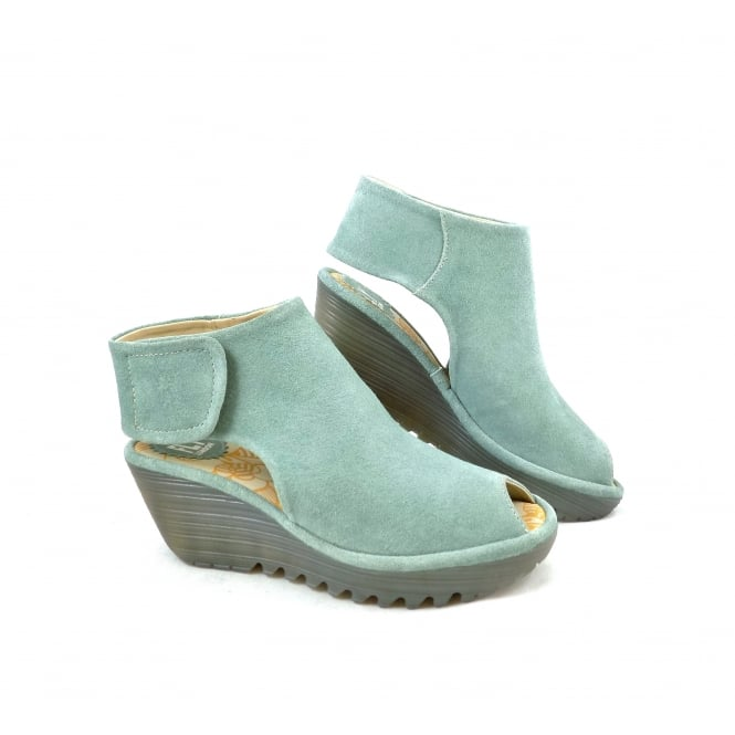 Fly London Yone Wrap-Around Wedge Sandal