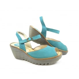 Fly London Yora Peep Toe Sandal