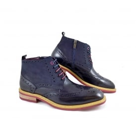 Justin Reece Matthew Brogue Ankle Boot