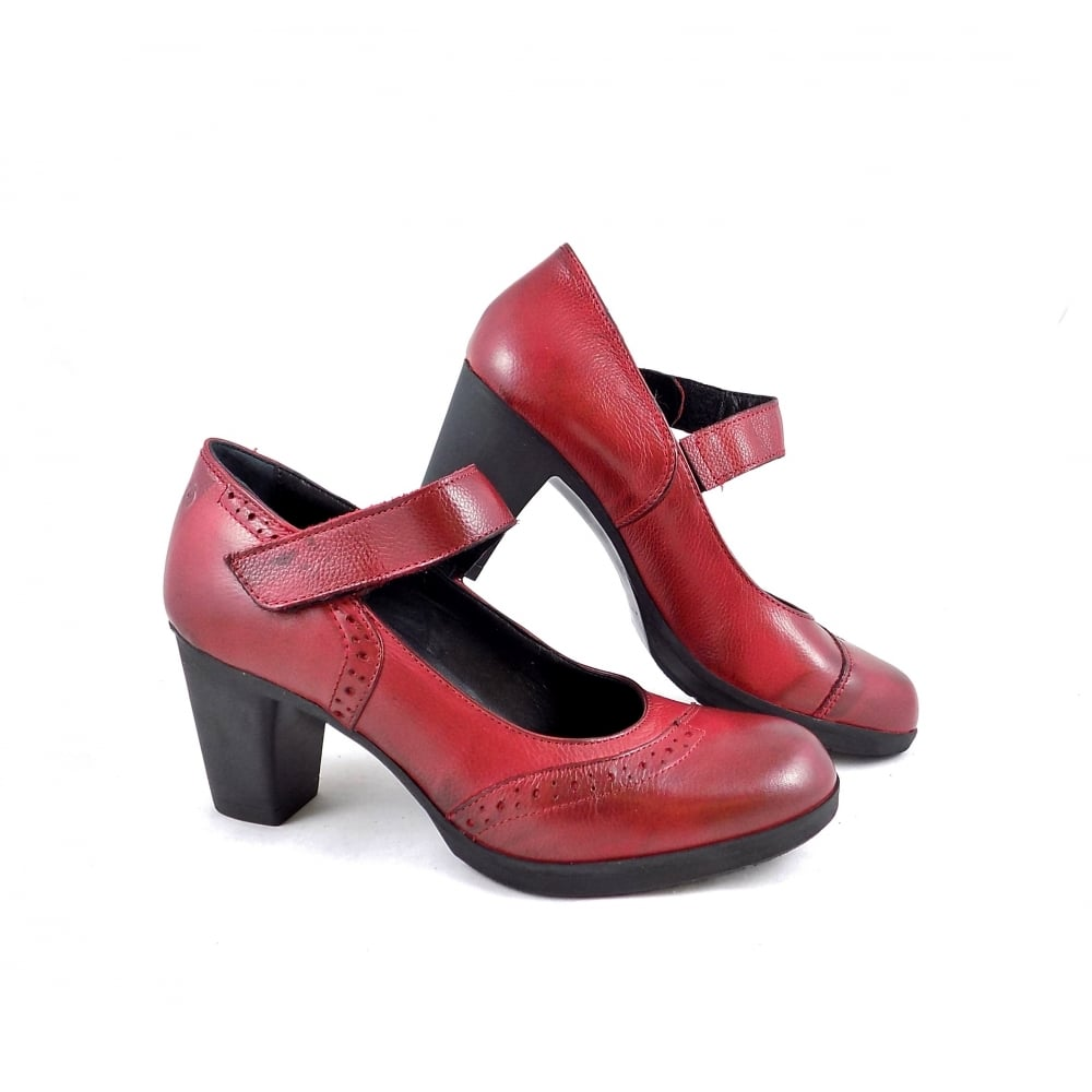 Khrio 3216 Mid Heel Court Shoes with