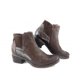 Khrio 7513 Western Style Ankle Boot