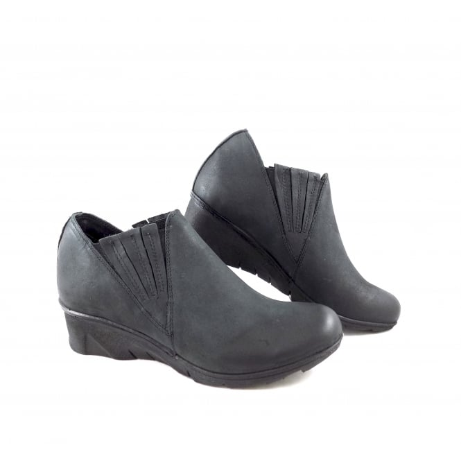 Khrio 7904 Low Wedge Slip On Shoe Boot