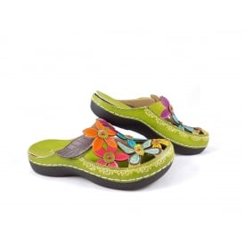 Laura Vita Billy 11 Lightweight Floral Clog