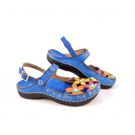 Laura Vita Billy 17 Lightweight Sandal with Closed Toe