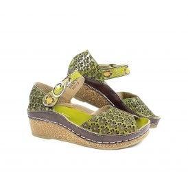 7c12dd67cda4 Laura Vita Fascine 03 Open Toe Wedge Sandal