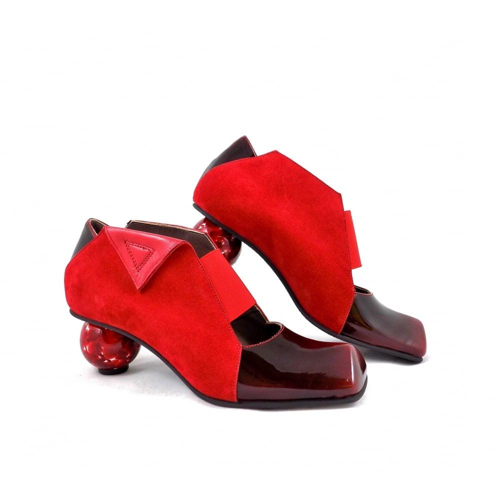Lisa Tucci Novara Slip On with Sculptural Heel