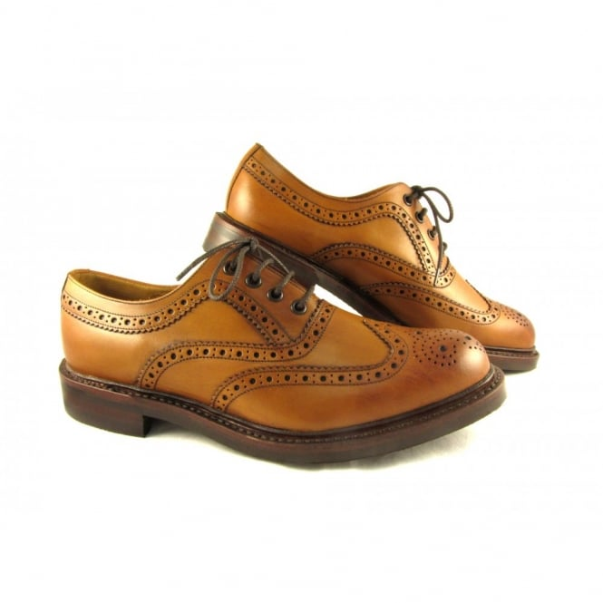 Loake Edward Welted Brogue Shoe