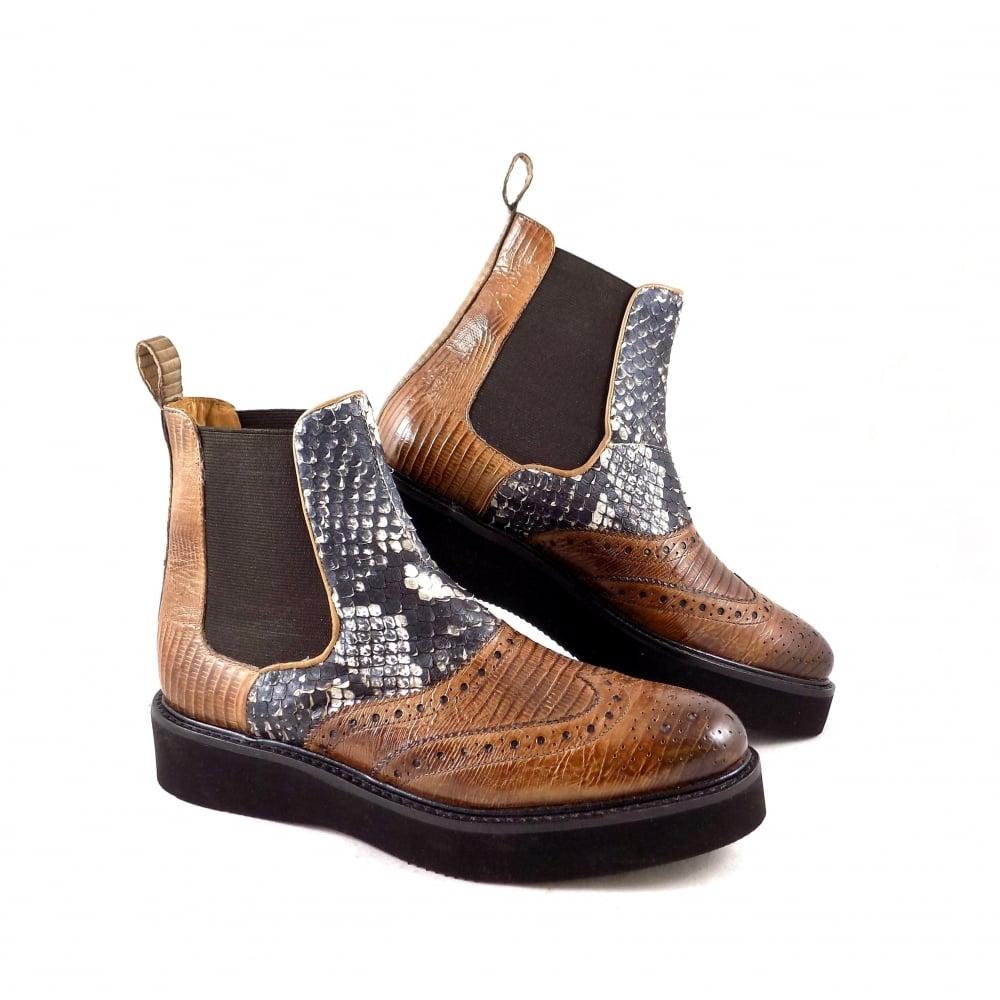 zeitloses Design Luxus-Ästhetik Turnschuhe 2018 Melvin & Hamilton Melvin & Hamilton Molly 5 Creeper Ankle Boot