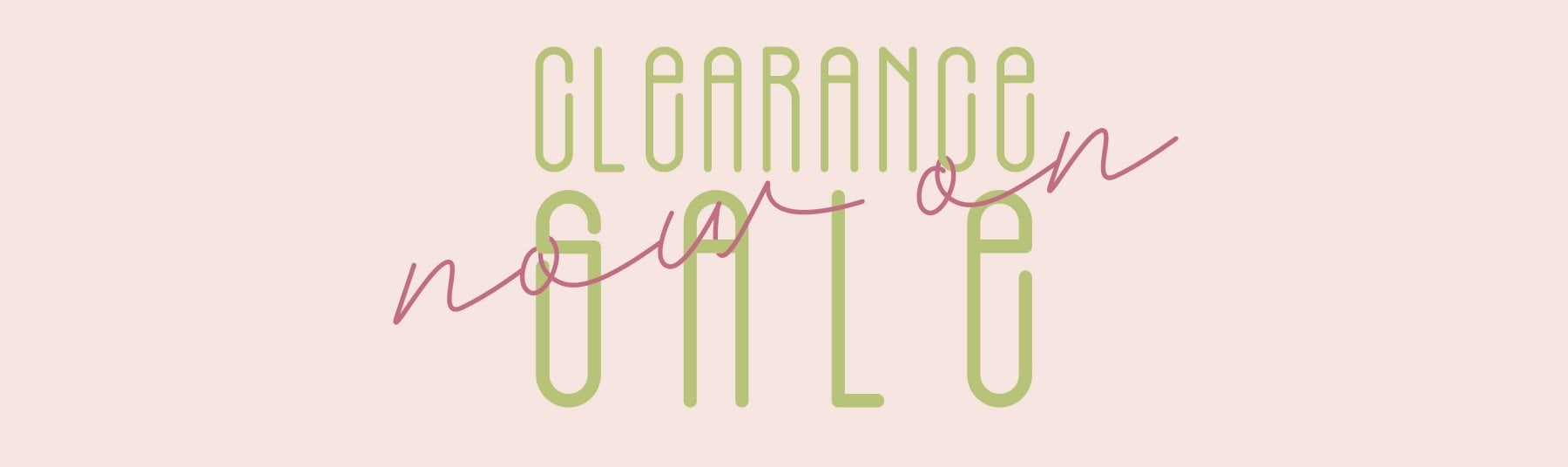 Clearance SS19
