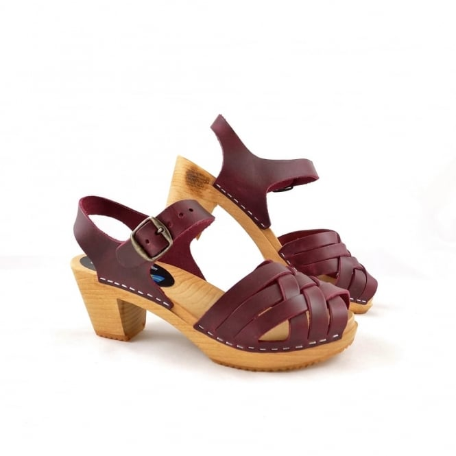 Moheda Betty Braided Clog Sandal